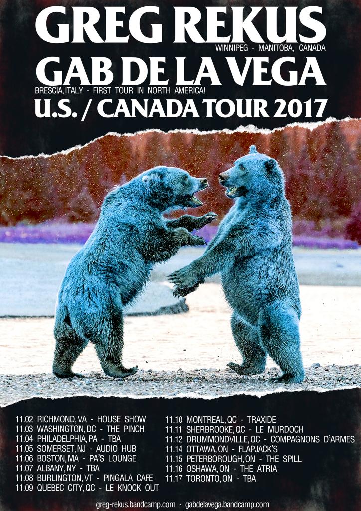 Greg Rekus - Gab De La Vega - Tour Poster - resized png