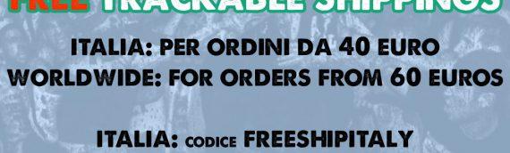 Free Trackable Shippings! / Spedizioni Tracciabili Gratis!