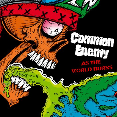 Common Enemy - As The World Burns - LP