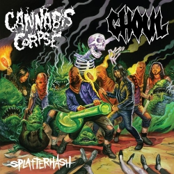 Cannabis Corpse / Ghoul - Splatterhash - Split - LP
