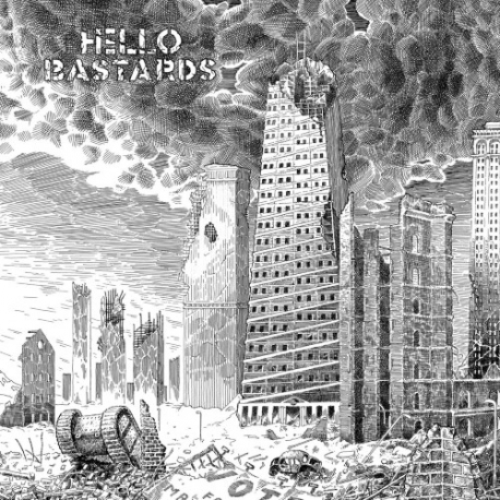 Hello Bastards - S/T - LP