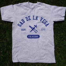 Gab De La Vega - Folkcore - Grey - T-Shirt