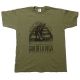 Gab De La Vega - Never Look Back - Olive Green - T-Shirt