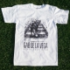Gab De La Vega - Never Look Back - White - T-Shirt