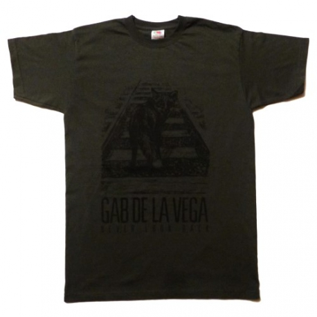 Gab De La Vega - Never Look Back - Grafite - T-Shirt