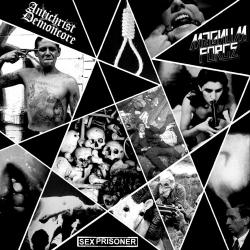 "ACxDC /Magnum Force / Sex Prisoner - Split - 10"""