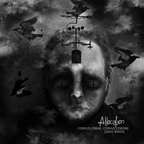 "Allocation - Corvus Corax, Corvus Corone (Soul Birds) - 10"""