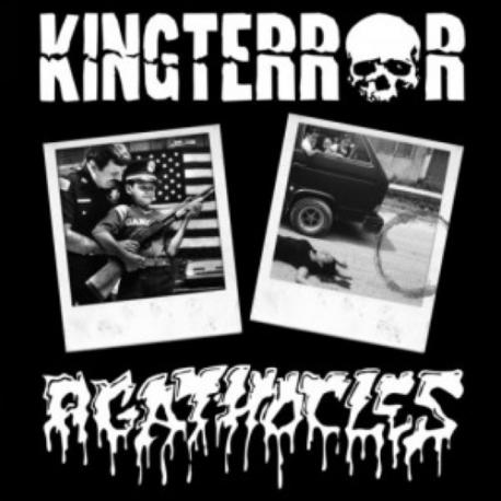 "Kingterror / Agathocles - Split - 10"""