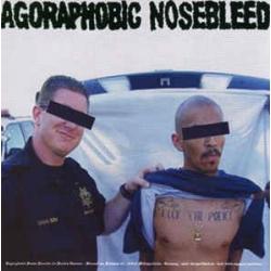"Agoraphobic Nosebleed / Crom - Split - 7"""