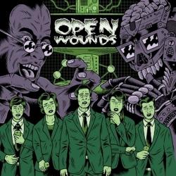 Open Wounds - S/T - LP
