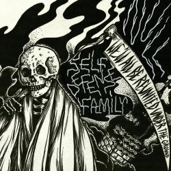 """Self Defense Family / Null - Split - 7"""""""