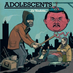Adolescents - La Vendetta... - LP
