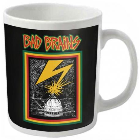 Bad Brains - White - Coffee Mug