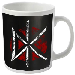 Dead Kennedys - White And Red Logo - Coffee Mug