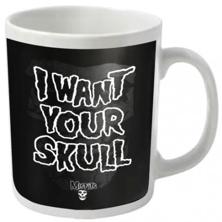 Misfits - I Want Your Skull - Coffee Mug