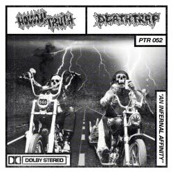 """Hollow Truth / Deathtrap - An Infernal Affinity - Split - 7"""""""