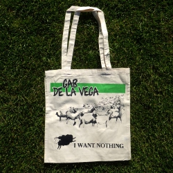 Gab De La Vega - I Want Nothing - Tote Bag
