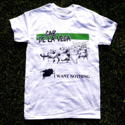 Gab De La Vega - I Want Nothing - T-Shirt