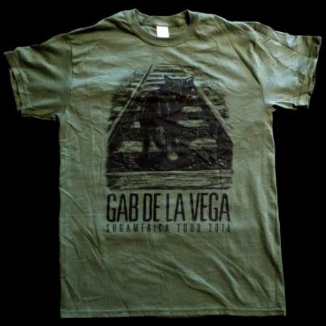 Gab De La Vega - Sudamerica Tour 2018 - T-Shirt