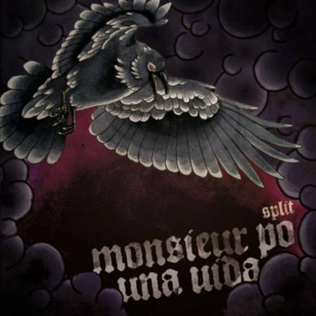 Monsieur Po / Una Vida - Split - CD