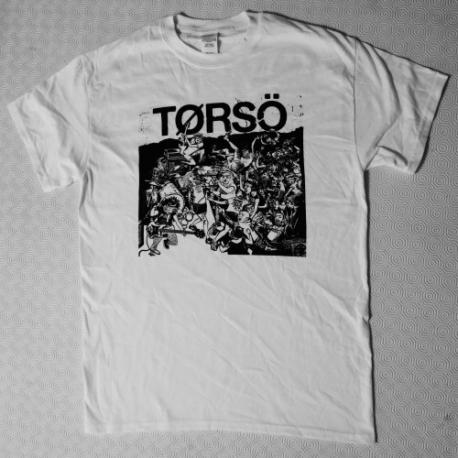 Torso - Moshpit - Bianca - T-Shirt