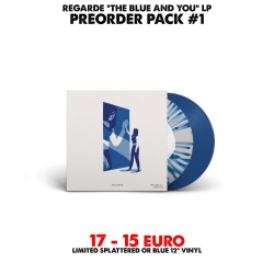 [Preorder Pack 1] Regarde - The Blue And You - LP