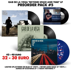 [Preorder Pack 5] Gab De La Vega - Beyond Space And Time - LP