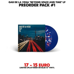 [Preorder Pack 1] Gab De La Vega - Beyond Space And Time - LP
