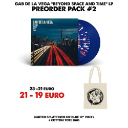 [Preorder Pack 2] Gab De La Vega - Beyond Space And Time - LP