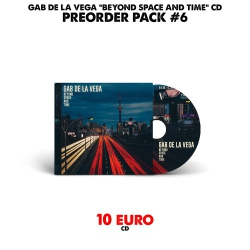 [Preorder Pack 6] Gab De La Vega - Beyond Space And Time - CD