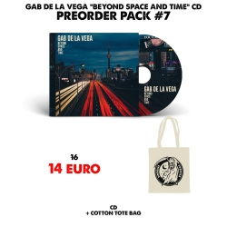 [Preorder Pack 7] Gab De La Vega - Beyond Space And Time - CD