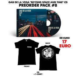 [Preorder Pack 8] Gab De La Vega - Beyond Space And Time - CD