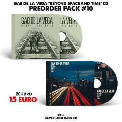 [Preorder Pack 10] Gab De La Vega - Beyond Space And Time - CD