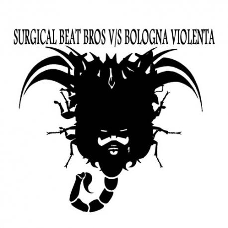 """Surgical Beat Bros / Bologna Violenta - Split - Flexi - 7"""""""