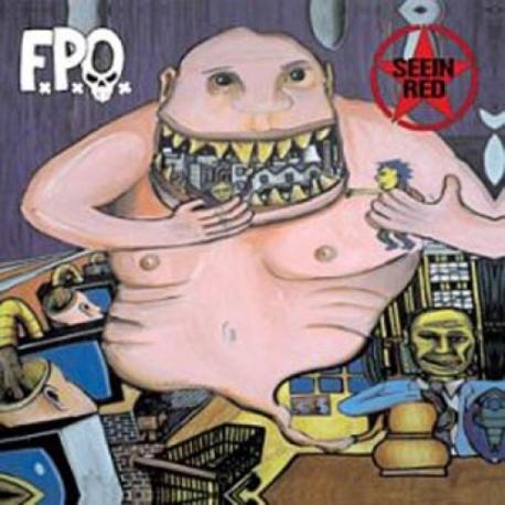 F.P.O. / Seein' Red - Split - CD