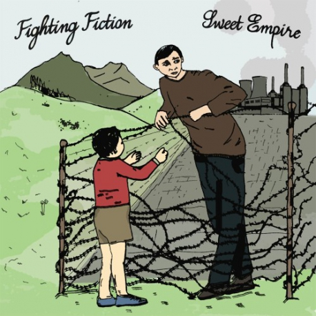 Fighting Fiction / Sweet Empire - Split - 7""
