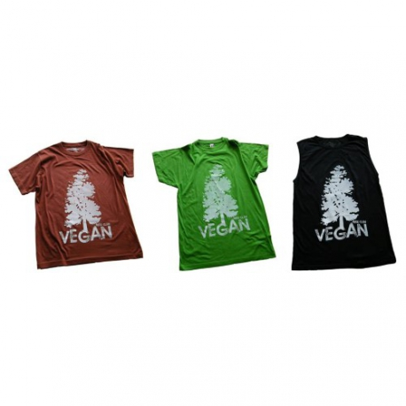 Vegan + Tree - T-Shirt (Rise Clan)
