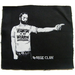 Veganism Is My Weapon - Patch (Rise Clan)