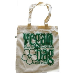 Vegan Bag - Tote Bag (Rise Clan)