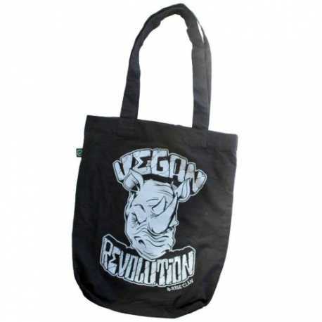 Vegan Revolution - Rhino - Tote Bag (Rise Clan)