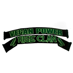 Vegan Power - Scarf (Rise Clan)