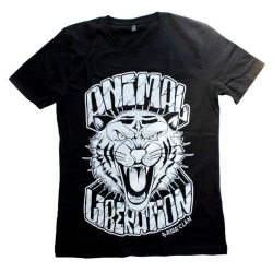 Animal Liberation - Tiger - T-Shirt (Rise Clan)