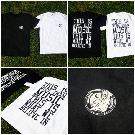 Epidemic Records - Logo + This Is More Than Music - T-Shirt
