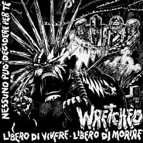 Wretched - Libero Di Vivere, Libero Di Morire - LP