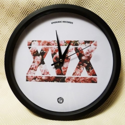 Epidemic Records - XVX (Roses) - Wall Clock