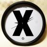 Epidemic Records - X Clock (Black) - Wall Clock