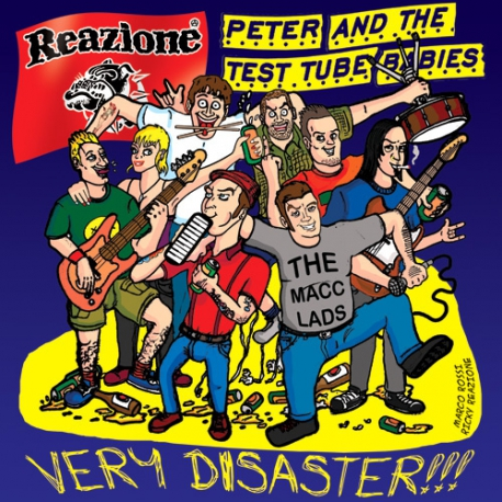 Peter And The Test Tube Babies / Reazione - Very Disaster - Split - CD