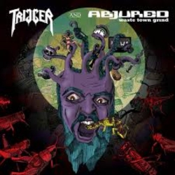 Trigger / Abjured - Split - LP