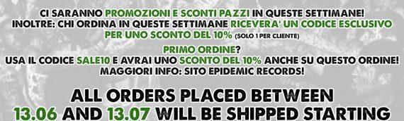 Order shipment postponed, but you'll be rewarded! / Spedizione ordini posticipata, ma sarete ricompensati!